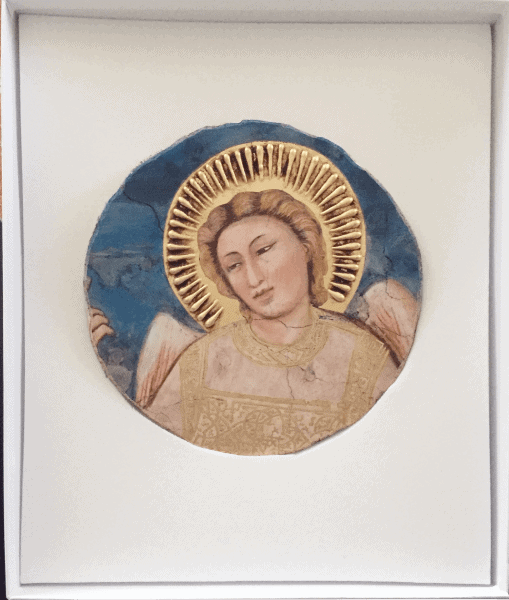 Giotto, Ascensione, part. dell'Angelo